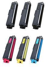 6PK BROTHER TN221 TN-221 New Black Compatible Toner TN225 6-pack 3BLACK $69.50