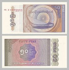 Myanmar 50 pyas 1994 p68 unz.