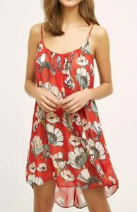 Anthropologie intimates by EloiseCrisantemi Chemise | Red | XS