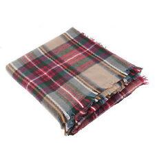 Women Oversized Blanket Tartan Scarf  Wrap Shawl Plaid Cozy Faux Cashmere LB