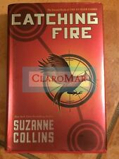 ☀️ Catching Fire Suzanne Collins HARDCOVER Book First Edition 1st Printing 2009