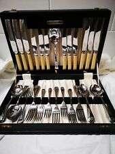 Vintage Canteen of Cutlery The Stratford Cabinet. 37 piece.