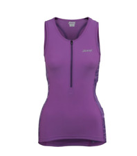 Zoot - Women's Performance Tri Tank - Purple Haze Static - Extra Small
