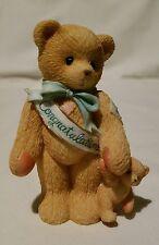 Cherished Teddies Bear Figurine Congratulations Celebration