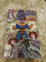 Silver Surfer #38 vs Thanos 1990 Very Fine (cb1)