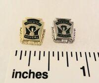 2 Little League Baseball PINs - OFFICIAL Lapel Pins - LL & LL UMPIRE