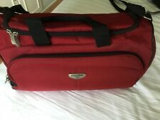 Dockers Red Holdall Travel Bag
