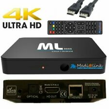 Medialink ML9000 IP Box Android Stalker Xtream 4K UHD 2160p Wifi