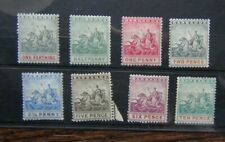 Barbados 1892 - 1903 values to 10d MM