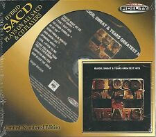 Blood,Sweat & Tears Greatest Hits Hybrid-SACD Audio Fidelity NEU OVP Sealed Lit.