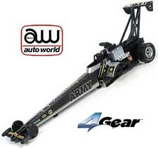 Autoworld NHRA U.S. Army Tony Schumacher Top Fuel Dragster HO Slot Car AFX