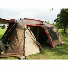 Snow Peak Landlocker TP-671R Camping Shelter Screen Tent 2 Room for 6 People/New