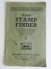vintage thomas cliffe Xlcr Stamp Finder Index System Manual C1940/50s