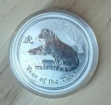 "Australian Lunar II Serie ""Year of the Tiger"" 2010 1oz Silver"