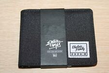 ELECTRIC FAMILY Cycling Black Canvas Bifold Wallet NWT
