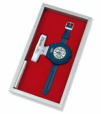 Swatch YCS1009 olympic Irony Chrono Athens 2004 RUN TIME special packaging