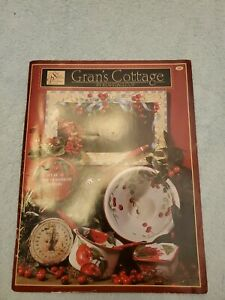 Gran's Cottage Tole Painting Pattern Book by Ros Stallcup, Fruit Apples Flowers