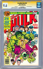 INCREDIBLE HULK #200 CGC-SS 9.6 SIGNED LOU FERRIGNO aka ORIG 1980'S TV HULK 1976