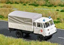 Busch -H0- 5627 Robur LO 2002A »Rotes Kreuz« mit blauen Blinkleuchten