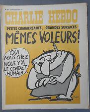 ►CHARLIE HEBDO N°151  - OCTOBRE 1973 - REISER