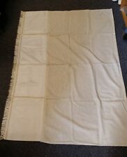 VTG CHURCH ALTAR PARAMENT LECTERN PULPIT COVER SCARF IVORY ELEGANT HAND MADE