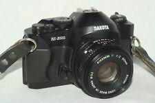 Dakota RZ-2000 camera, Ricoh P 50 mm 1:2 lens, batteries for student photography