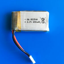 3.7V 25C 650mAh 852540 Lipo Battery For Syma X5C X5 RC Quadcopter Helicopters
