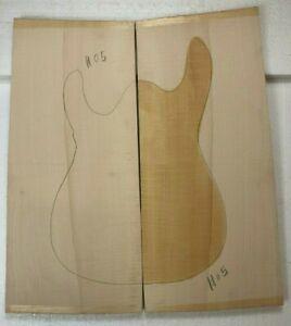Flame Ou Bouclé Sculpté Goutte Haut D'Érable Pour Guitare Électrique 22 x 8 x 5