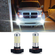 2X 2800LM PSX24W 2504 white144-SMD LED Fog Light Bulb High Power Super bright