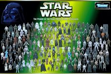 Star Wars POTF2 FULL COLLECTION Loose Figure NM Complete Ship