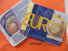 Eslovaquia 2012 2 euro coincard - 10 años euro-dinero en efectivo-Comunidad de salida