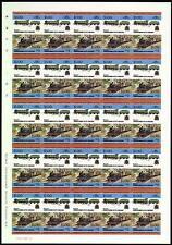 1928 Ravenglass & Eskdale Railway RIVER IRT Imperf/Imperforate Train Stamp Sheet