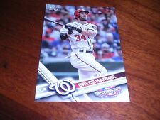 2017 Topps Opening Day #20A Bryce Harper Washington Nationals