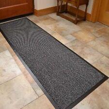 Barrier Mat Door Large Heavy Duty Rubber Rugs Mats Non Slip Hall Grey 60 x 120