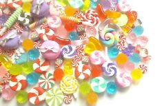 Jelly sweet cabochon set, decoden charms, slime making crafts, craft supplies