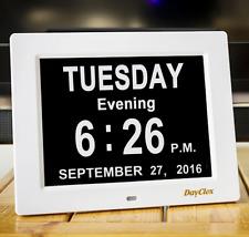 DayClox Memory Loss Digital Calendar Day Clock Dementia Clock with Day Cycles