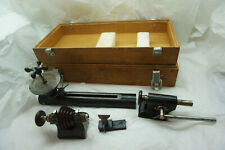 VINTAGE WATCH REPAIR TOOLS LATHE PARTS DERBYSHIRE WATCHMAKER JEWELER CLOCKMAKER