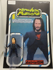 Mini Keanu Reeves - Custom Action Figure