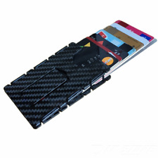 Carbon Fiber RFID Blocking The Minimalist Wallet Slim ID Credit Card Holder Men