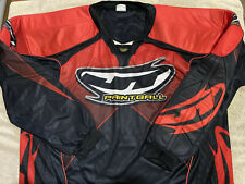 JT USA Paintball Jersey Men's XL RED THROW BACK VINTAGE - Fast Shipping!