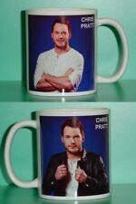 CHRIS PRATT - with 2 Photos - Designer Collectible GIFT Mug