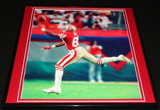 Jerry Rice Framed 12x12 Poster Photo 49ers Super Bowl