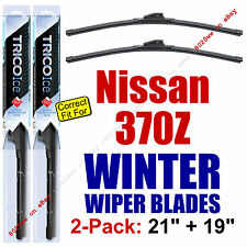 WINTER Wiper Blades 2-Pack Premium - fit 2009+ Nissan 370Z - 35210/190