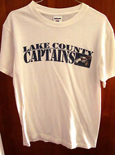 LAKE COUNTY CAPTAINS mascot small T shirt Ohio logo Indians minor-league tee
