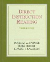 Direct Instruction Reading [3rd Edition] [ Carnine, Douglas W. ] Used -