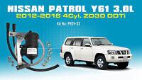 Mann ProVent Oil Catch Can Bracket Kit for Nissan Patrol 2012-16 3.0L Y61 D