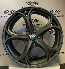 """KIT 4 Cerchi in lega Alfa Giulietta 18"""" + GOMME 225/40R18 PIRELLI PZERO NERO GT*"""