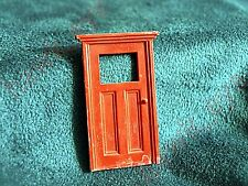Plasticville Cape Cod House Red Front Door O-S Scale
