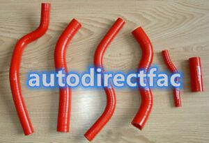 Silicone Radiator Hose Kit Red Honda CR125 1990-1997 91 92 93 94 95 96