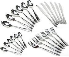 BESTECKSET oder EINZELN Edelstahl Menübesteck Besteck Gabel Löffel Messer